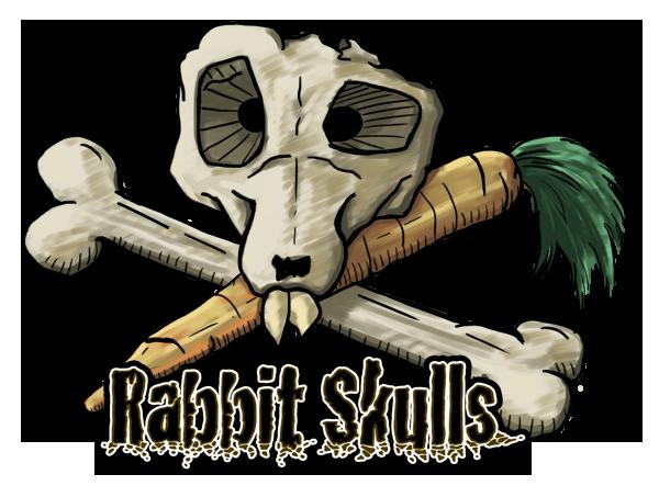 Rabbit Skulls Schädel